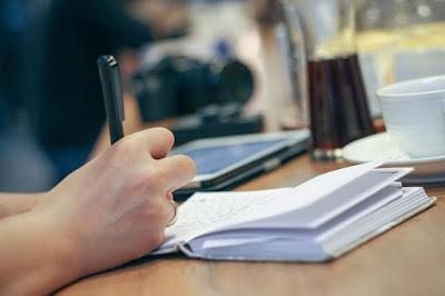 Belajar menulis untuk blog