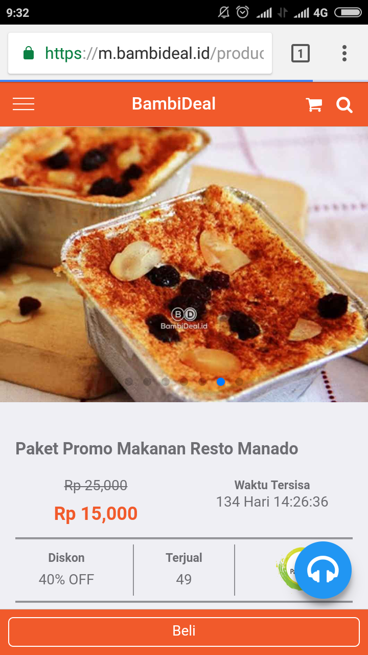 Kuliner Manado Klapertart