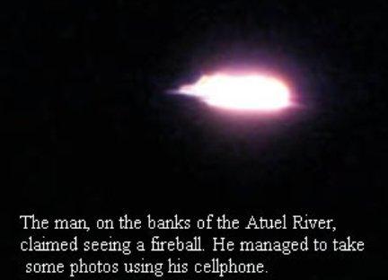 Old UFO Sighting At Atuel River Mendoza