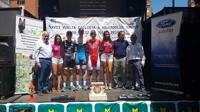 Victoria de Juan José Rosal en la última etapa  de la Vuelta a Valladolid