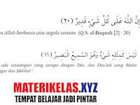 Materi Kelas 7 Akidah Akhlak Kurikulum 2013