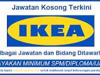 Jawatan Kosong Terkini di IKEA - Tetap/ Kontrak