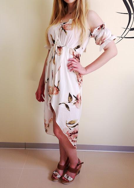 Zaful - Przepiękna sukienka wiosenna z najnowszej kolekcji + reszta zamówienia ;)