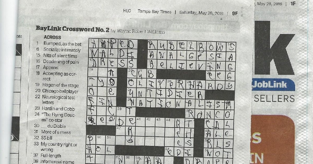 paper buys crossword clue