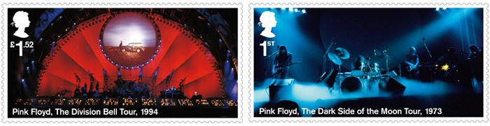 ピンク・フロイド記念切手は、Royal Mailウェブサイトで購入可能