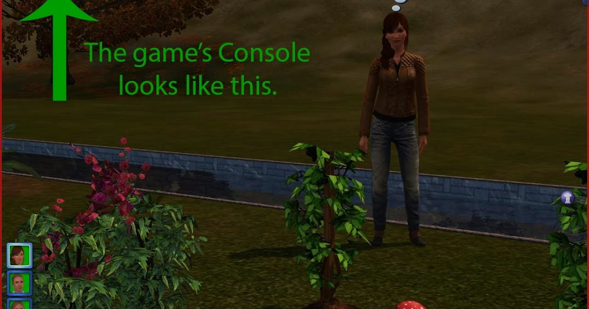 Summer's Little Sims 3 Garden: The Sims 3: Cheat Codes and