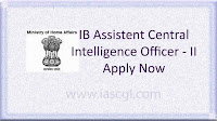 Apply for IB ACIO for 1300+ Vacancy