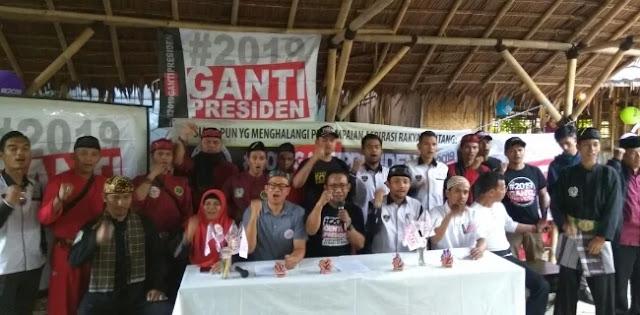 Deklarasi Gerakan #2019GantiPresiden di Depok  Bakal Dikawal Ormas