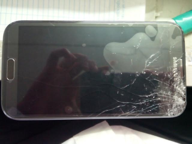 Mặt kính Samsung Note 2 ở hà nội