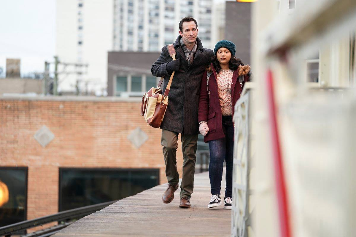 Fotograma de la nueva serie de CBS, The Red Line