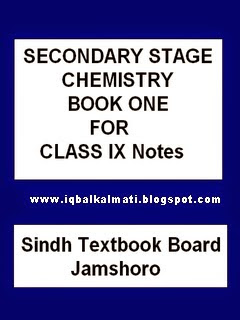 Notes on chemistry class 10