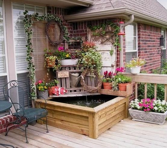 Small Home Garden Ideas Sample: 25 Εμπευσμένες ιδέες σχεδιασμού αίθριου