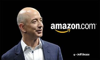Jeff Bezos – US$ 70.3 bilhões (EUA) – Amazon.com