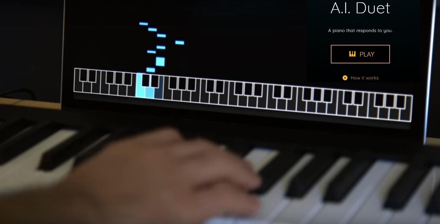Tecnoneo: El programa Google AI Duet toca el piano en respuesta a ...