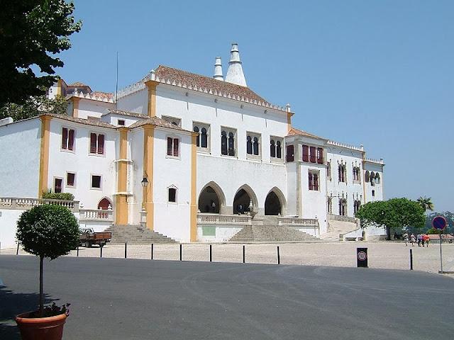 Entrada Palácio Nacional de Sintra