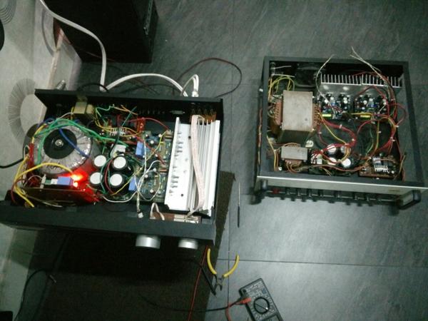 100 Watts Symasym5 Power Amplifier