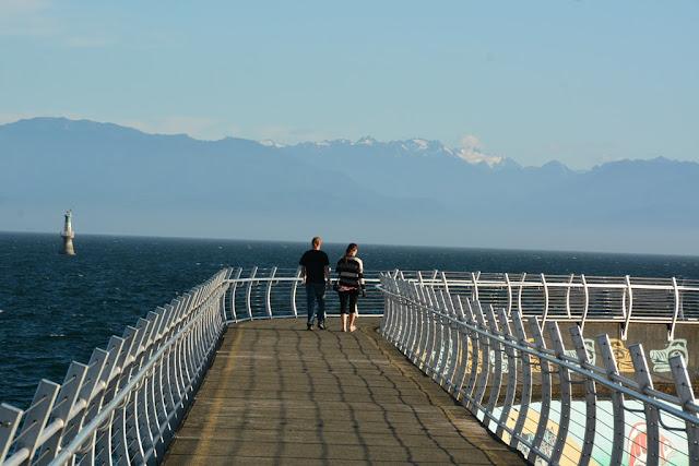 Victoria Island pier