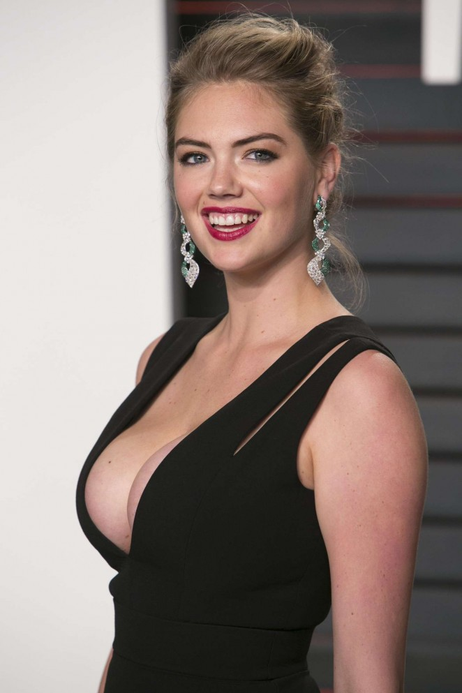 Kate Upton – 2016 Vanity Fair Oscar Party in Beverly Hills