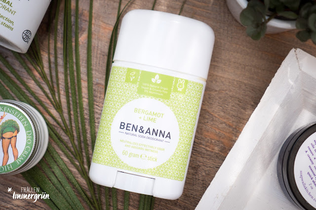 Ben & Anna Deo-Stick// Bergamot & Lime (aka Persian Lime)