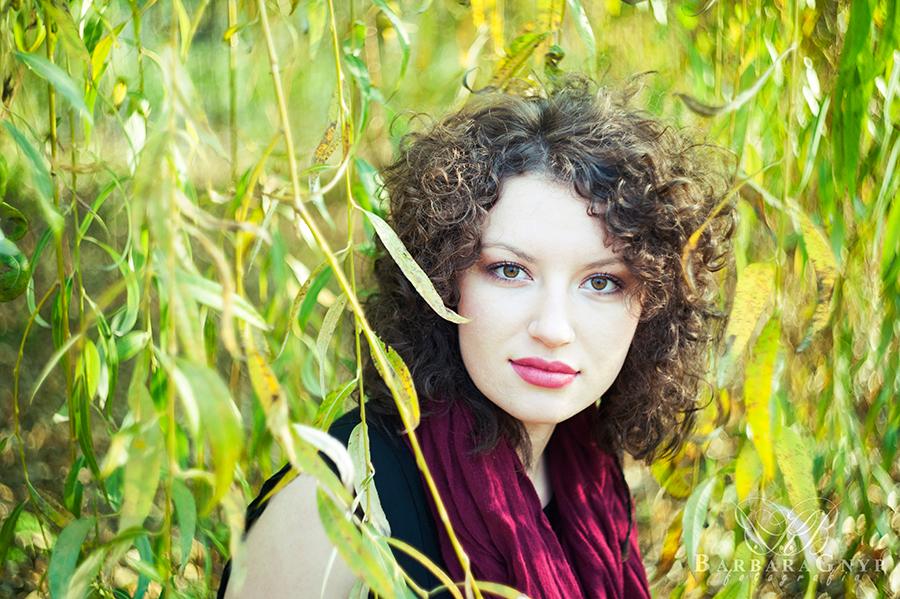 Wiosna jesienią, czyli kobieca sesja plenerowa z Sylwią | Lublin | Park Ludowy