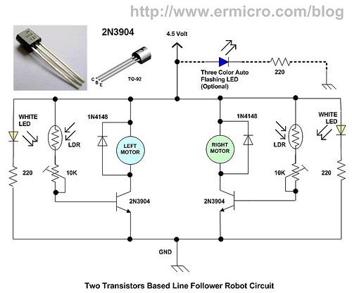 : Membuat Robot Line Tracer / Line Follower