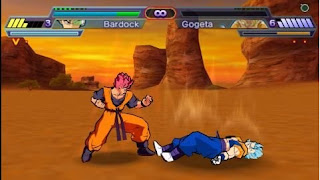 Game PPSSPP Android Dragon Ball Total Majin Chaos