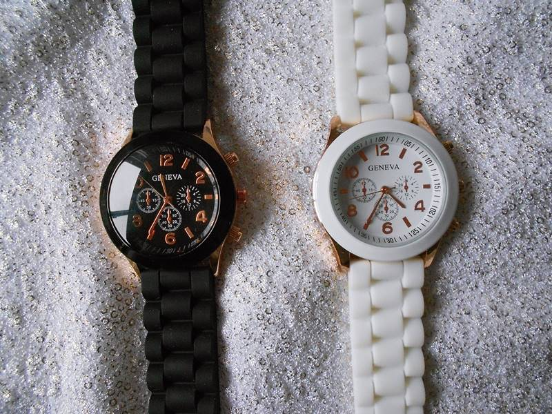 eBay goodies | Black and white watches