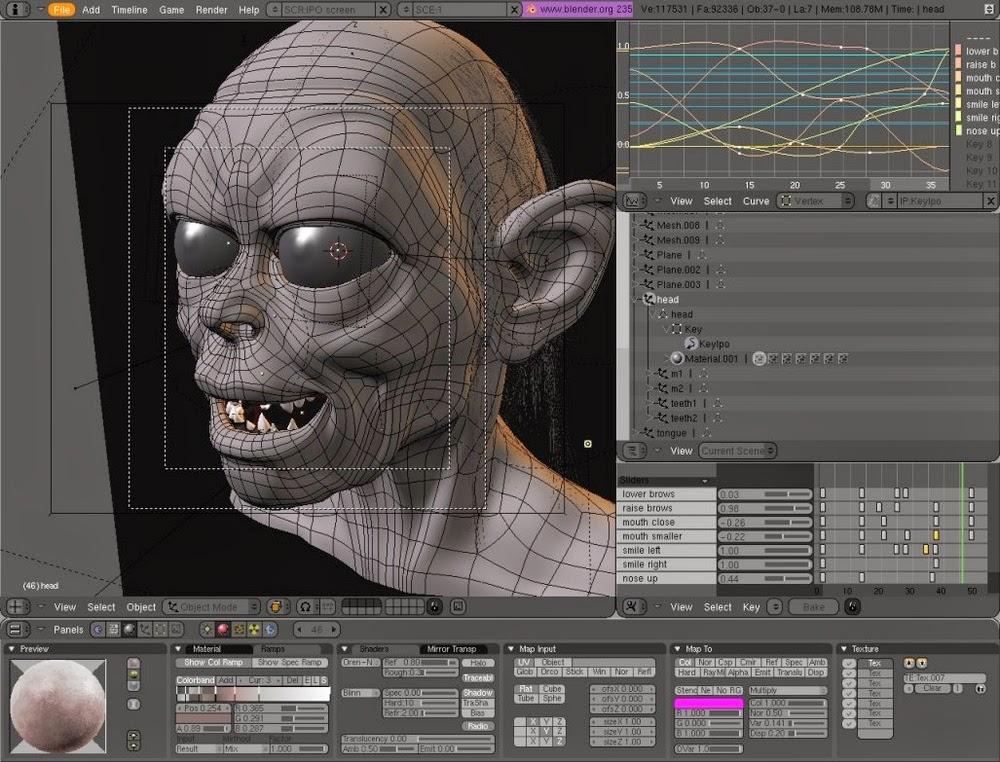 Tutorial Sederhana Belajar Animasi 3D Blender Membuat Meja  Master Andro