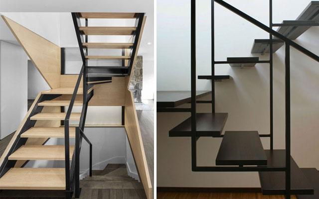 Marzua pasamanos modernos para escaleras de dise o - Escalera de diseno ...