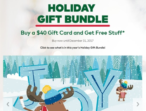 Cineplex Free Holiday Gift Bundle