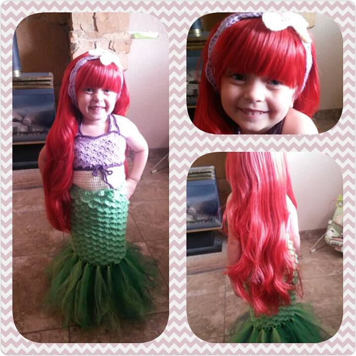 This year I really wanted to crochet my girls their costumes especially my youngest daughter who badly wanted to go as Ariel.  sc 1 st  RobbyGurlu0027s Creations & RobbyGurlu0027s Creations: Crochet Mermaid Costume Pattern By Robin Lyman