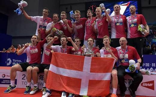 Tim Piala Thomas Denmark