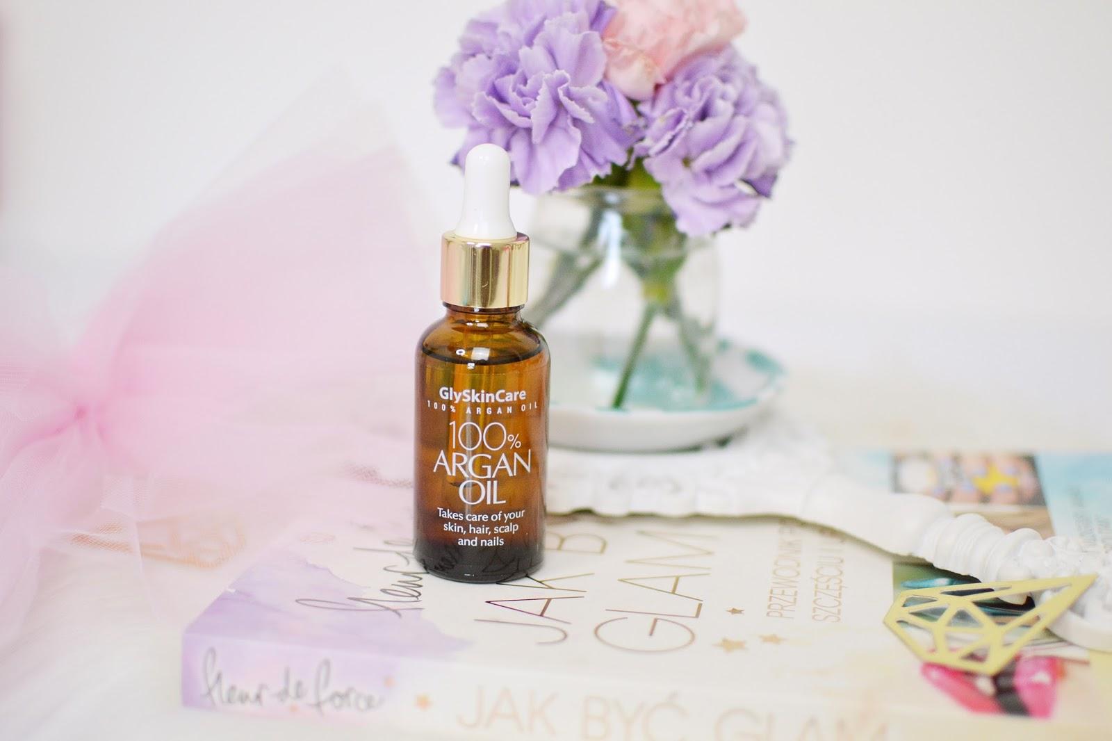 Gly Skin Care: serum z kwasem hialuronowym i olejek arganowy