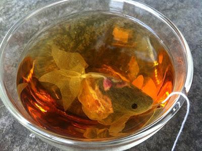 Bolsa de Té en forma de pez