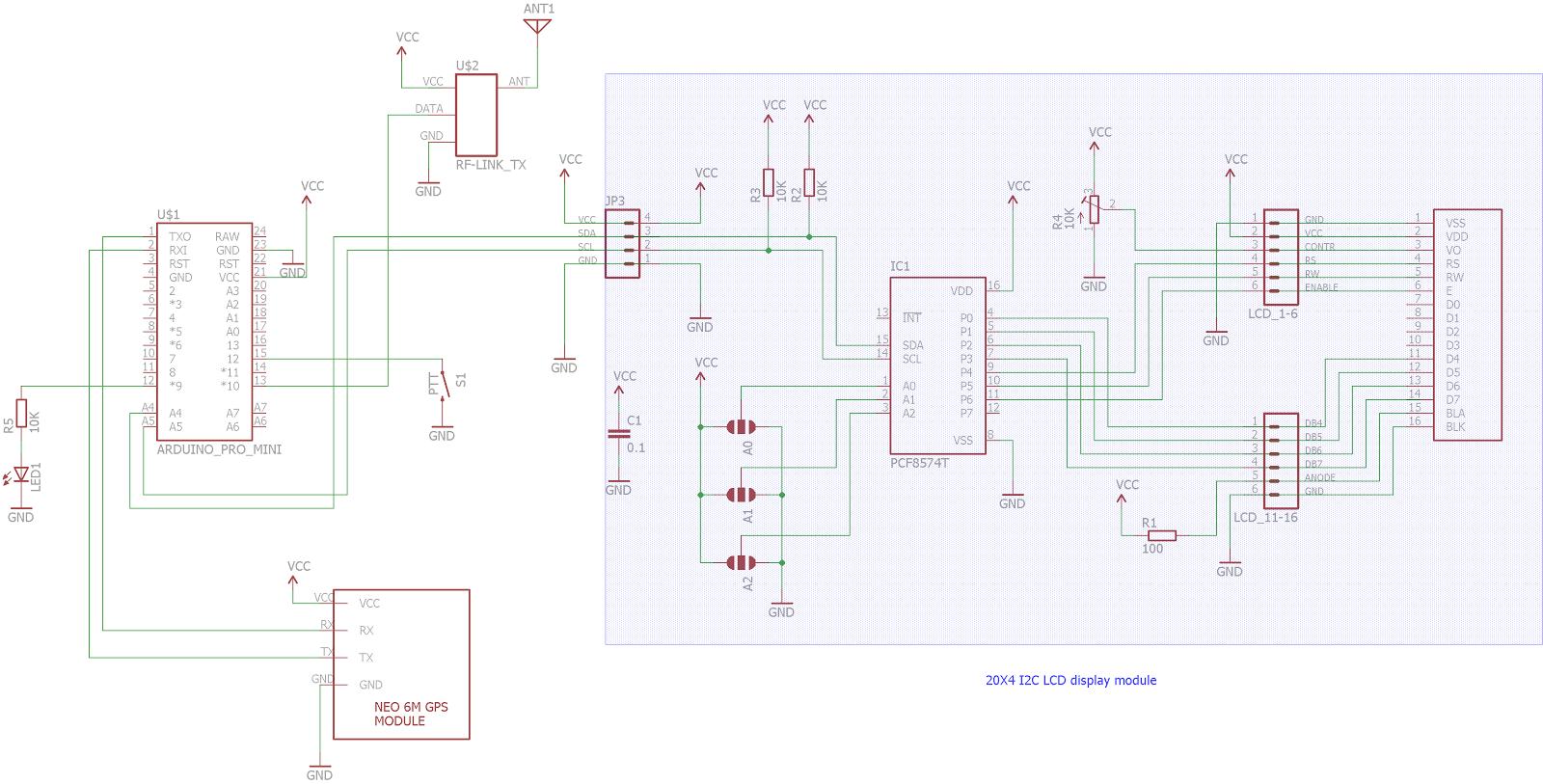 Doz' Blog: Arduino GPS master clock with 433/315 MHz transmitter