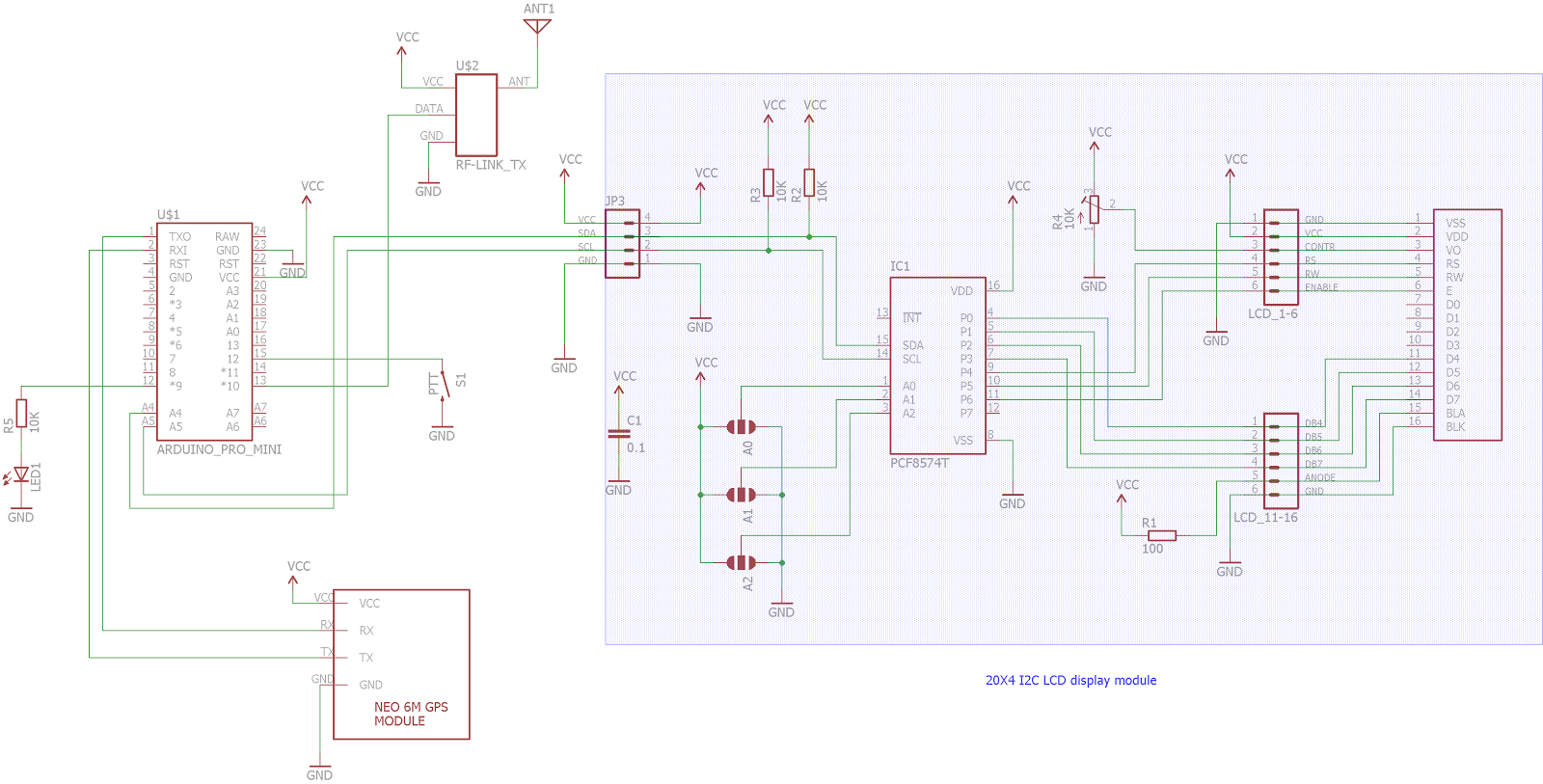 Doz Blog Arduino Gps Master Clock With 433 315 Mhz