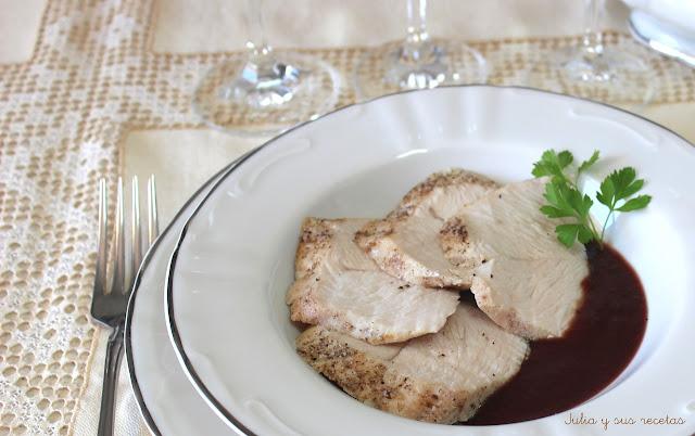 pavo asado con salsa de ar ndanos diadeltitanic