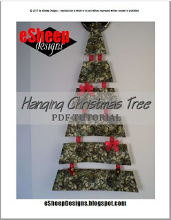 Hanging Christmas Tree by eSheep Designs