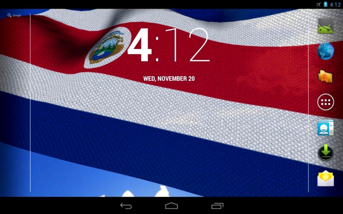 Costa Rica Countries Flag Wallpaper Wallpapers Titan