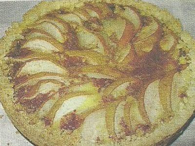 Рецепт приготовления фруктового пирога с грушами