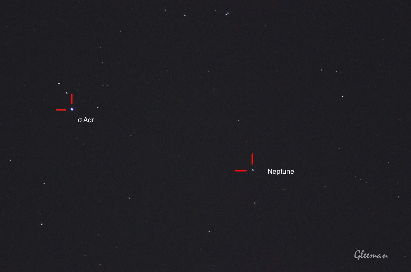 Neptune 海王星目前在寶瓶座/ Pentax Pentax 75SDHF + 1.4XL + K5 ,O-GPS1 Astrotracer