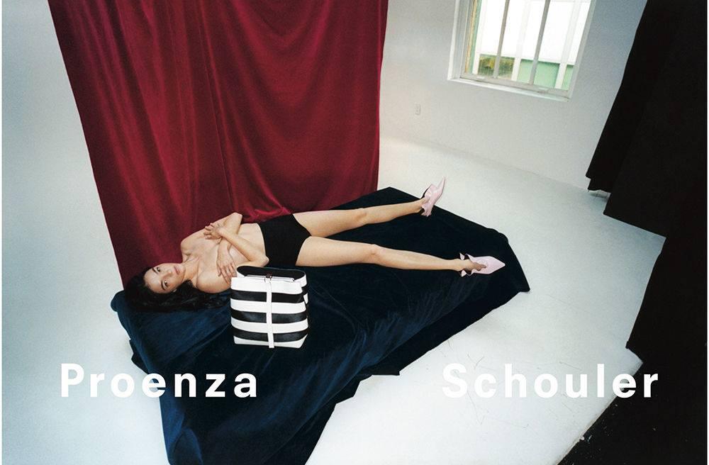Proenza Schouler Spring/Summer 2018 Campaign featuring Mariacarla Boscono