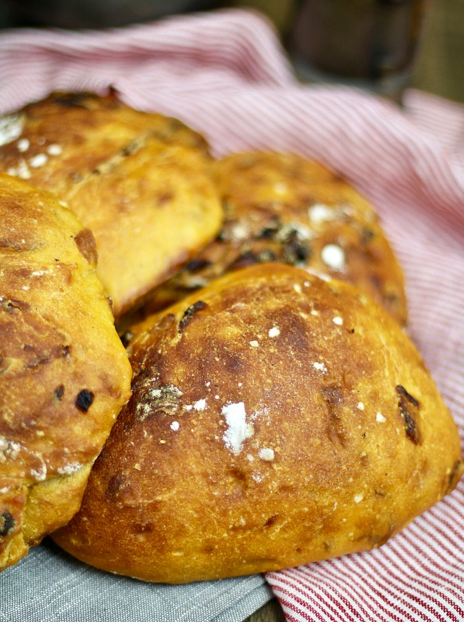 Sweet Potato and Onion Bread