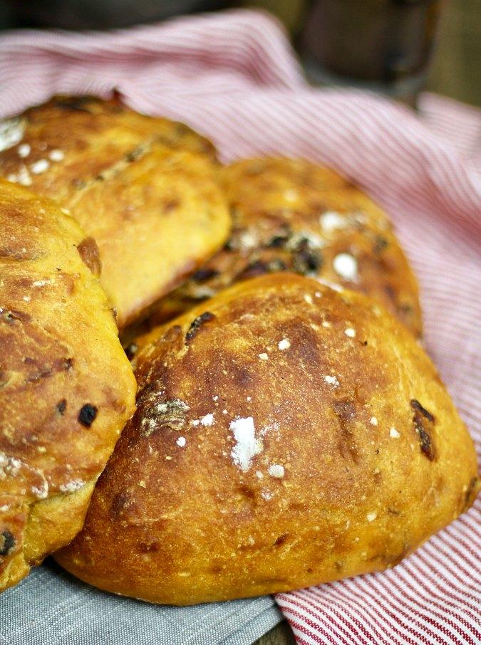 Sweet Potato and Onion Bread