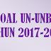 Soal Teori Kejuruan (STK) SMK Jasa Boga UN-UNBK 2018