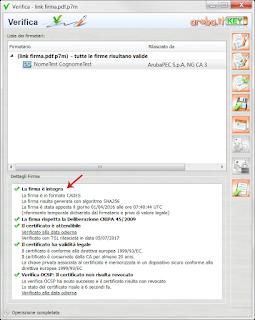 come usare programma dike per aprire file p7m mac pc