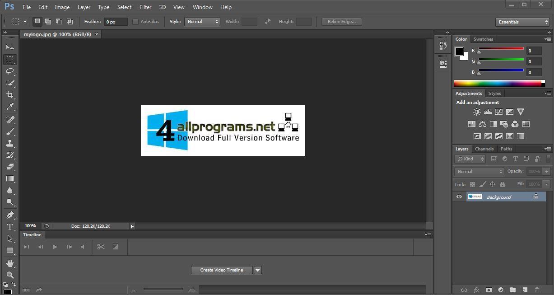 Adobe photoshop cs3 portable crack zip free download cnet for Miglior programma grafica 3d