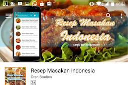 Resep Masakan Indonesia Ada di Aplikasi Ini
