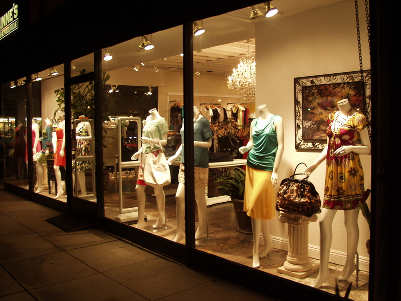 Fashion clothing boutiques