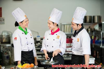 Trung cấp Nấu ăn Kỹ thuật chế biến món ăn